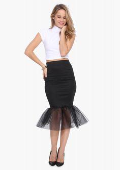 Mermaid Tulle Skirt