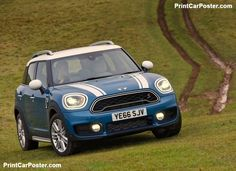 Mini Countryman Cooper S ALL4 2017 poster, #poster, #mousepad, #tshirt