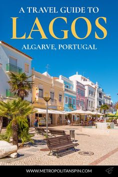 Planning a trip to Portugal? Check out the beautiful city of Lagos! #portugal #algarve #lagos #europe #travel