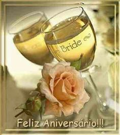 Ciari y Miche feliz aniversario y que dios bendiga su amor Happy Anniversary, Wedding Anniversary, Good Night Greetings, Morning Greeting, Cakes And More, Happy Day, Wine Glass, Alcoholic Drinks, Centerpieces
