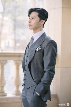 What's Wrong With Secretary Kim-Park Seo-joon_Korean Drama-Subtitle Indonesia- Park Min Young, Korean Star, Korean Men, Gong Yoo, Asian Actors, Korean Actors, Joon Park, Lee Young, Seo Kang Joon