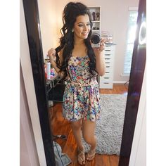 Ciaoobelllaxo, her videos are amazing! She's a makeup artist and cuts, color's, and styles hair (she might do nails too). Her YouTube name is: ciaoobelllaxo