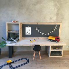 Kids Table With Storage, Bali House, Baby Playroom, Boys Desk, Kid Table, Kidsroom, Kid Beds, Kids Bedroom, Wood Projects