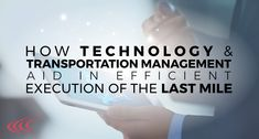 Last Mile, Technology Management, Transportation, Personal Care, Self Care, Personal Hygiene