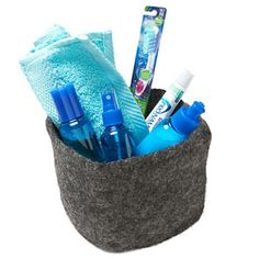 Put Together a Toiletry Kit-guest bedroom idea my aunt has a basket full of extras just for guests it's so nice
