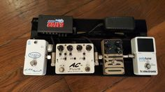 Compact et efficace : Keeley Katana clean boost - Xotic Effects AC Plus - Lovepedal OD11 - TC Polytune