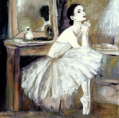 Mariola Ptak, baletnica, malarstwo, wnętrza, sztuka Figurative, Painting, Art, Art Background, Painting Art, Kunst, Paintings, Gcse Art