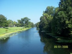 Bayou Lafourche near Thibodaux, Louisiana