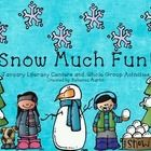 You and your student will have SNOW MUCH FUN with these 6 literacy centers!   Centers Included: Frozen!- a CVC memory game Writing Winter Acrostic ...