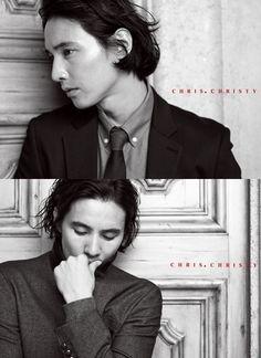 'Chris.Christy' reveals 2012 FALL advertisement campaign featuring Won Bin