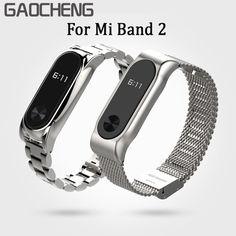 Mi2 Metal Strap for Xiaomi Mi Band 2 Strap Metal Steel Bracelet Screwless Stainless Pulseira Mi Band 2 Wristbands Miband 2 Belt #Affiliate
