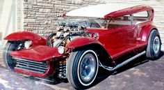 George Barris- Lil Coffin Show Rod