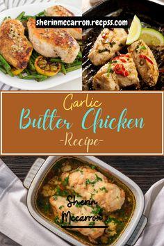 Garlic Butter Chicken, Chicken Recipes, Cooking Recipes, Nice, Chef Recipes, Nice France, Recipies, Recipes