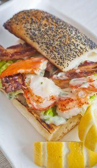 Lobster Club Sandwic