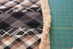 flannel baby blanket diy