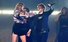 Taylor Swift showed she was well and truly back in the swing of performing as she joined BFF Ed Sheeran onstage at the NOW! POPTOPIA concert at SAP Center, San Jose on Saturday. Ed Sheeran, I Give Up, Bring It On, Edward Christopher Sheeran, Hip Hop, Folk, Hands In The Air, Pop Rock, Sweet Soul