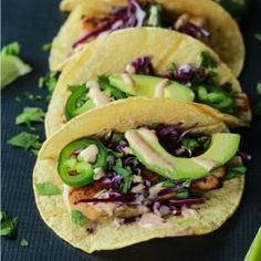 Grilled Mahi Mahi Fish Tacos with Chipotle Lime Crema  #HealthyEating #CleanEating  #ShermanFinancialGroup