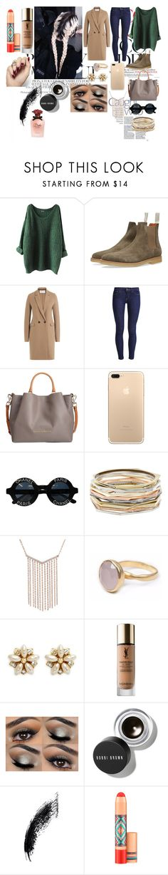 """Mercy."" by it-srabina ❤ liked on Polyvore featuring Harris Wharf London, Levi's, Dooney & Bourke, Chanel, Kendra Scott, Bohemia, Miriam Haskell, Yves Saint Laurent, Bobbi Brown Cosmetics and MAC Cosmetics"
