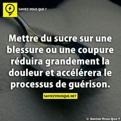 Sucre sur blessure True Facts, Funny Facts, New Things To Learn, Things To Know, Do You Know What, Good To Know, Fearless Quotes, E Mc2, Positive Affirmations