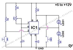 555 Timer Time Delay Circuit