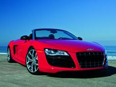 Audi R8 Spyder, love the red