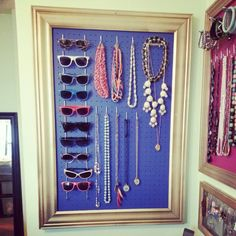 Part 2 jewelry and sunglasses storage.