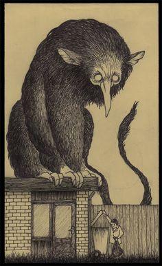 John Kenn Mortensen Post-it Monsters