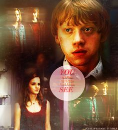Hermione and Ron ♥