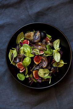 fig salad. #salad #vegan #vegetarian #simple