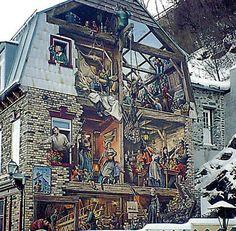 Murale à Québec.  A Mural in Quebec City | par Denyse Béchard