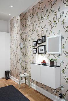 corredores decorados com papel de parede - Pesquisa Google