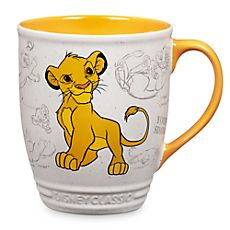 "Simba Mug - Disney Classics Collection ""Oh I just can't wait to be king"""