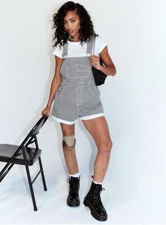 Dungarees, Overalls, Usa Store, Playsuit Romper, Princess Polly, Rolled Hem, Hair Tools, Playsuits, Dress Outfits
