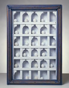 !joseph cornell_dovecote_connection to architecture, ruins, past and Mondrian_before minimalism and Sol Le Wit grids