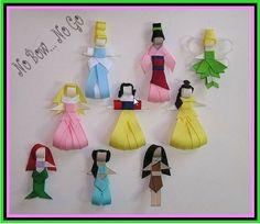 Princess ribbon clips - Craft night activity?