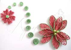 Ayani art: quilled cards