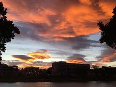 Sunset Sonnenuntergang in Gisborne Neuseeland