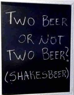 Shakespeare alcolico