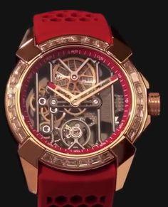 捷克豹 EPIC-X Rose Gold Baguette Bezel Red brand new watch in better price. It is premium class luxury watch comes with original box, papers and Manufacturer Warranty Full Set. Patek Philippe, Fashion Bracelets, Fashion Jewelry, Watches Photography, Devon, Skeleton Watches, Gold Chains For Men, Dream Watches, Expensive Watches