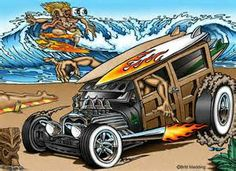 hot rod art