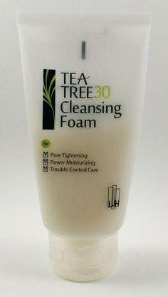 Leejiham (LJH) Tea Tree30 Cleansing Foam