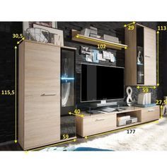 Make A Tv Stand, Modern Tv Wall Units, Tv Unit, Locker Storage, Living Room Decor, Police, Cabinet, Furniture, Home Decor