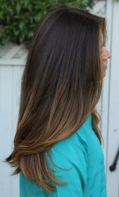 Beautiful, Natural Brunette Highlights. #Hair #Beauty #Brunette Visit Beauty.com for more.
