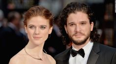 [NO SPOILERS] Kit Harington (Jon Snow) and Rose Leslie (Ygritte) are engaged http://ift.tt/2y8CZ7w