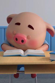 Pig Wallpaper, Snoopy Wallpaper, Kawaii Pig, Cute Piglets, Pig Drawing, Pig Illustration, Emoji Images, Pig Art, Mini Pig
