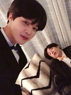 Jimin and Jungkook ❤️ [BTS Trans Tweet] 잘자라 우리 멤버들  #JIMIN #꾹 #미뉸기 / Sleep well our members  #JIMIN #Kkook #MiNyoongi #BTS #방탄소년단