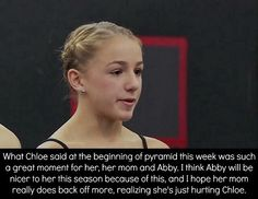 Dance moms confessions.. christi is the type of mom tht cant just back off cause she cares too much