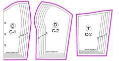 reversible strapless crop top || patrón gratis || free pattern