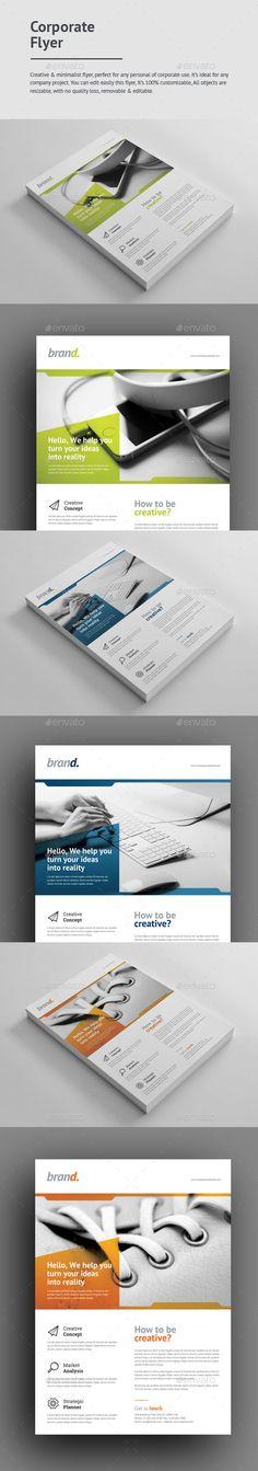 Corporate Flyer - Web Design Agency Web design agency, Design - web flyer