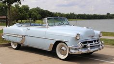 1953 Chevrolet Bel Air Convertible presented as Lot at Schaumburg, IL Chevrolet Bel Air, Chevrolet Corvette, Chevrolet Auto, Lowrider, Vintage Cars, Antique Cars, Vintage Auto, Convertible, Toyota